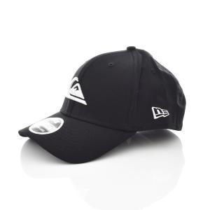 クイックシルバー QUIKSILVER ニューエラ NEW ERA キャップ 帽子 メンズ コラボ マウンテン & ウェーブ 黒 ロゴ ブランド MOUNTAIN & WAVE AQYHA03487|stay