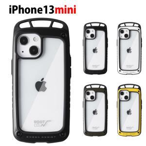 【iPhone 13 mini 5.4inch 専用ケース】ルート コー ROOT CO iPhoneケース グラビティ ショックレジストケース エルク アイフォンケース アウトドア GSE-4389|stay