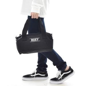 ロキシー ROXY バッグ レディース ミニ ドラムバッグ ショルダーバッグ ロールバッグ 筒形 ロゴ ブランド 黒 ブラック レット ミー セイ LET ME SAY RBG201321|stay