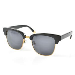 セイバー サングラス SABRE カトラス レディース メンズ uvカット ウェリントン ブラック ゴールド 金 セルフレーム メタルフレーム ブランド CUTLASS SS6-503|stay