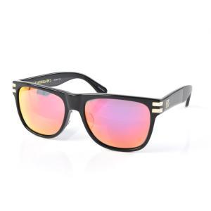 セイバー サングラス SABRE ハートブレイカー S レディース メンズ uvカット 紫外線 ウェリントン セルフレーム ブラック レッド ミラー ブランド SV250-115J|stay
