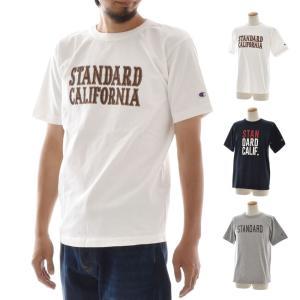 スタンダードカリフォルニア STANDARD CALIFORNIA チャンピオン CHANMPION コラボ メンズ Tシャツ SD T ティーシャツ TEE コラボ ブランド スタカリ TSOCC080 stay