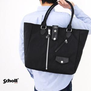 【取り寄せ商品】ショット Schott バッグ ナイロン ライダース トートバッグ 3169003|stay