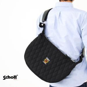 【取り寄せ商品】ショット Schott バッグ ナイロン パデッド バナナ ショルダーバッグ 3169006|stay