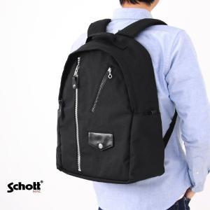 【取り寄せ商品】ショット Schott バッグ ナイロン ライダース デイパック 3169010|stay