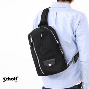 【取り寄せ商品】ショット Schott バッグ ナイロン ライダース ワンショルダーバッグ 3169017|stay