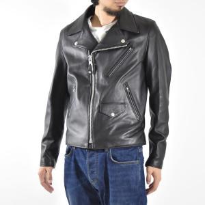 Schott ショット アウター 228US イタリアン ラムレザー ダブル ライダース ジャケット Leather Double Riders Jacket 7525|stay