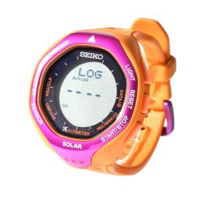 セイコー SEIKO レディース 腕時計 プロスペック アルピニスト 時計 防水 デジタル 登山用 高度計 気圧計 温度計 ブランド 10気圧 PROSPEX alpinist SBEB027 stay