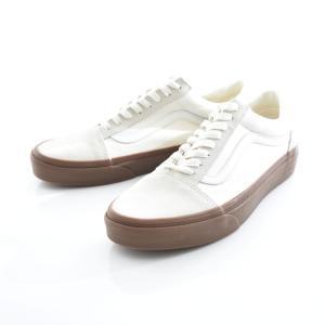 Vans バンズ スニーカー オールドスクール メンズ スケートボード スケボー OLD SKOOL ホワイト ガムソール VN0A38G1QW3 stay