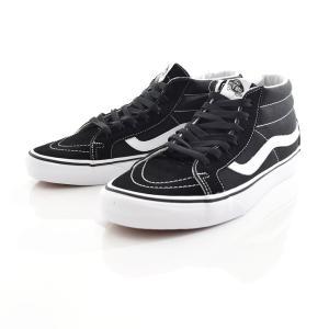 Vans バンズ スニーカー ハイカット メンズ スケートボード スケボー スケートミッド リイシュー SK8 MID ブラック ホワイト VN0A391F6BT stay