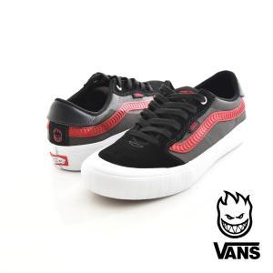 Vans バンズ スニーカー スタイル 112 プロ SPITFIRE スピットファイア コラボレーション メンズ スケートボード スケボー STYLE PRO ブラック VN0A347XQOI stay