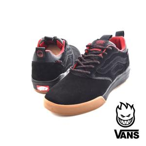 Vans バンズ スニーカー ウルトラレンジ プロ SPITFIRE スピットファイア コラボレーション メンズ スケートボード スケボー ブラック VN0A3DOSQOM|stay
