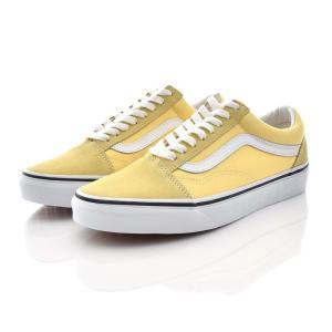 VANS ヴァンズ バンズ オールドスクール レディース スニーカー 靴 ブランド ゴールデン ヘイズ トゥルーホワイト 黄色 OLD SKOOL OLDSKOOL JAZZ VN0A4U3BWL6 stay