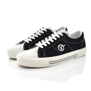 VANS ヴァンズ バンズ スニーカー シド デラックス デラックス SID DX メンズ 靴 ブランド アナハイム ファクトリー オールドスケート 白 黒 VN0A3JEXWVP stay