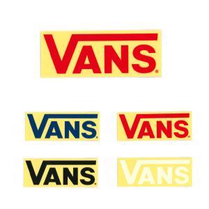 VANS バンズ ヴァンズ ステッカー FLV LOGOステッカー 小 ロゴ シール グッズ メンズ レディース アウトドア 車 バイク ボード FLV LOGO Stticker VANS004 stay