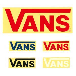 VANS バンズ ヴァンズ ステッカー FLV LOGOステッカー 大 ロゴ シール グッズ メンズ レディース アウトドア 車 バイク ボード FLV LOGO Stticker VANS002 stay