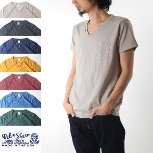 Velva Sheen ベルバシーン 1パック モックツイスト Vネック Tシャツ 161276[M便 1/1]|stay