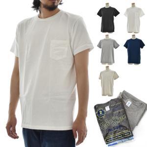 Velva Sheen ベルバシーン 2パック ポケット付きクルーネック Tシャツ 2枚組 160920|stay