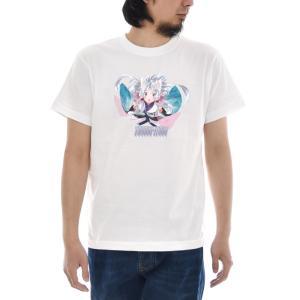 東北イタコ Tシャツ 半袖Tシャツ メンズ レディース 大きいサイズ 東北 ずん子 イタコ きりたん いたこ おしゃれ かわいい 可愛い 女の子 S M L XL 3L 4L TZ-011|stay