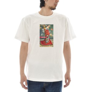 【アートTシャツ】モネ Tシャツ ラ・ジャポネーズ ライフ イズ アート 半袖 メンズ レディース クロード 大きいサイズ ホワイト 白 絵画 名画 ブランド stayblue