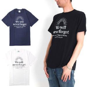 (復興デパートメント) CREAM ROLL クリームロール We Will Never Forget Tシャツ 半袖Tシャツ|stayblue
