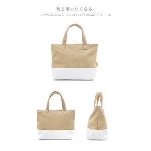 Hiyuca(ヒユカ) デイリートート 帆布×ターポリン トートバッグ カーキ stayblue 02