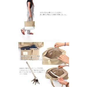 Hiyuca(ヒユカ) デイリートート 帆布×ターポリン トートバッグ カーキ stayblue 03