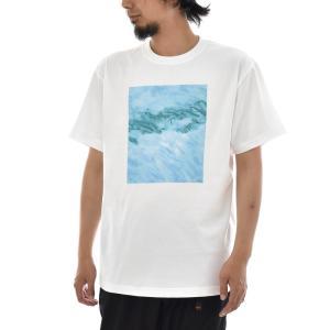 フォトTシャツ Tシャツ 鮭の孵化場 魚 サーモン Keisuke Hirai Collection 半袖Tシャツ 写真 景色 メンズ レディース 大きいサイズ S M L XL 3L 4L ブランド stayblue