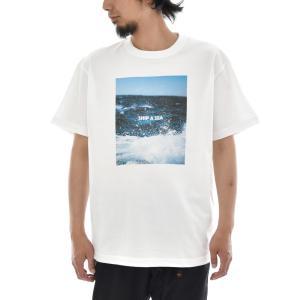 フォトTシャツ Tシャツ 波 海 スプラッシュ Splash Keisuke Hirai Collection 半袖Tシャツ 写真 景色 メンズ レディース 大きいサイズ S M L XL 3L 4L ブランド stayblue