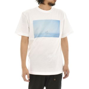 フォトTシャツ サークル Circle Keisuke Hirai Collection 半袖Tシャツ 写真 景色 船 メンズ レディース 大きいサイズ S M L XL 3L 4L ブランド stayblue