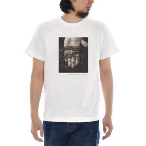 フォトTシャツ 海苔網 Keisuke Hirai Collection 半袖Tシャツ 写真 手 網 職人 養殖 メンズ レディース 大きいサイズ S M L XL 3L 4L ブランド stayblue