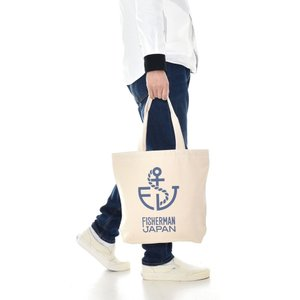 Life is ART ライフ イズ アート コラボレーション バッグ トートバッグ Fisherman japan フィッシャーマン ジャパン ロゴ コラボ ブランド|stayblue