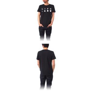 Tシャツ ライフ イズ アート Primary Logo Tシャツ Black メンズ|stayblue|02