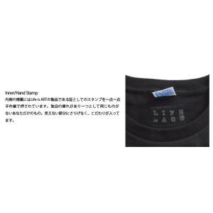(復興デパートメント) Tシャツ ライフ イズ アート ART Black メンズ|stayblue|03