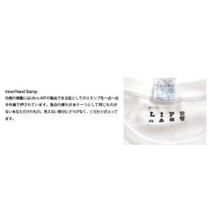 (復興デパートメント) Tシャツ ライフ イズ アート ART White メンズ|stayblue|03