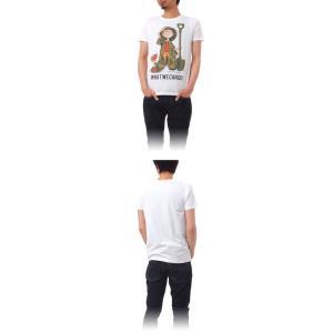 Tシャツ ライフ イズ アート Boy White メンズ|stayblue|02