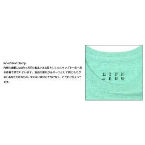 Tシャツ ライフ イズ アート Boy Melange Green メンズ stayblue 03