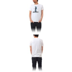 Tシャツ ライフ イズ アート Statue of Liberty White メンズ|stayblue|02