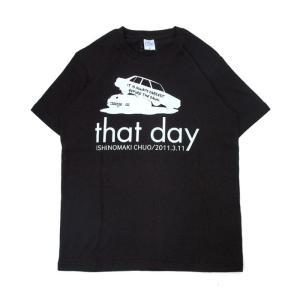 (復興デパートメント) Tシャツ ライフ イズ アート CAR Black メンズ stayblue