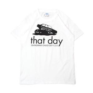 Tシャツ ライフ イズ アート CAR White メンズ|stayblue