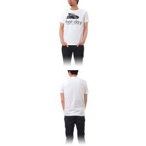 Tシャツ ライフ イズ アート CAR White メンズ|stayblue|02
