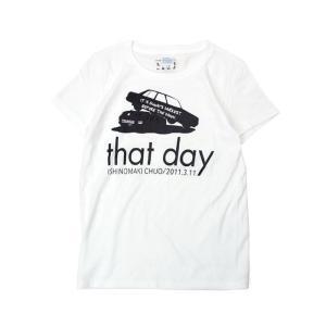 Tシャツ ライフ イズ アート CAR White レディース|stayblue