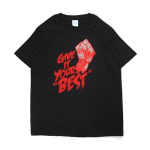 Tシャツ ライフ イズ アート × CREAM GRAPHICS Tシャツ Your best Black メンズ|stayblue