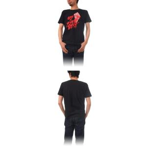 (復興デパートメント) Tシャツ ライフ イズ アート × CREAM GRAPHICS Tシャツ Your best Black メンズ|stayblue|02