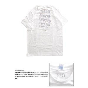 Tシャツ ライフ イズ アート × Chos Tシャツ NOT JUST A BEAUTIFUL White メンズ|stayblue|03