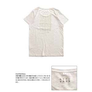 Tシャツ ライフ イズ アート × Chos Tシャツ NOT JUST A BEAUTIFUL Oatmeal レディース|stayblue|03