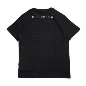 ライフ イズ アート Ingress×イトナブ Tシャツ Black メンズ|stayblue|02