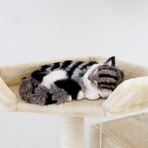 キャットタワー  猫 Cat Tower  ネコタワー  カラー3色 ホワイト ピンク ベージュ ワイドサイズ 高さ170cm 新品 stb 06