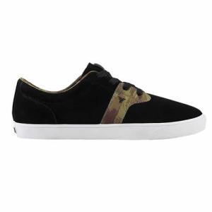 FALLEN(フォールン) 000339 CHIEF XI チーフ BLACK/DIY CAMO ブラック・カモ スケートシューズ/Skate Shoes|steadysurf