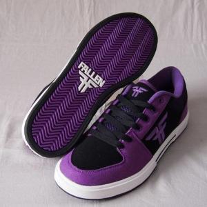 FALLEN(フォールン) 001024 PATRIOTIII パトリオット GRAPE PURPLE/BLACK グレープパープル・ブラック スケートシューズ/Skate Shoes|steadysurf